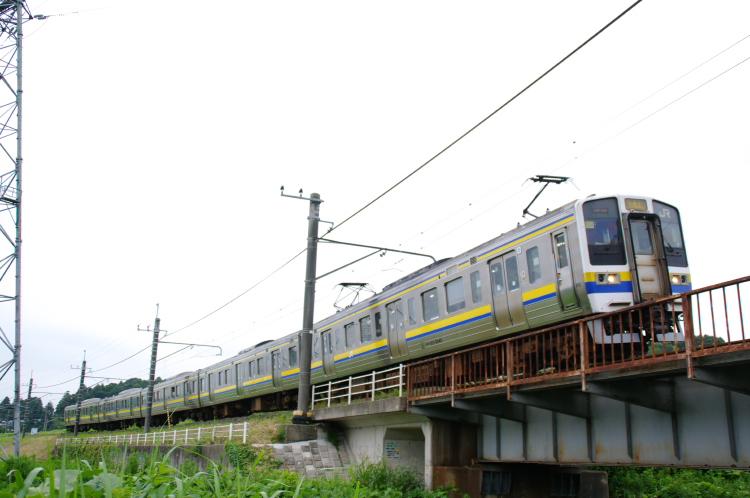 2012年7月20日 総武本線、緩行線 351M マリ504