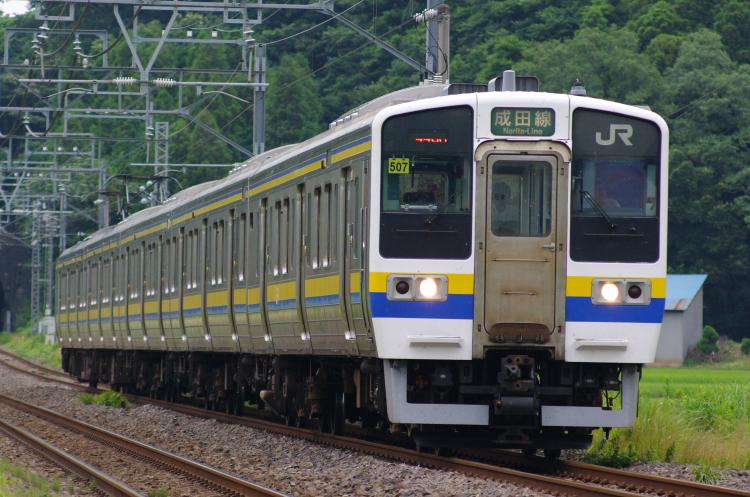 2012年7月20日 総武本線、緩行線 446M マリ507