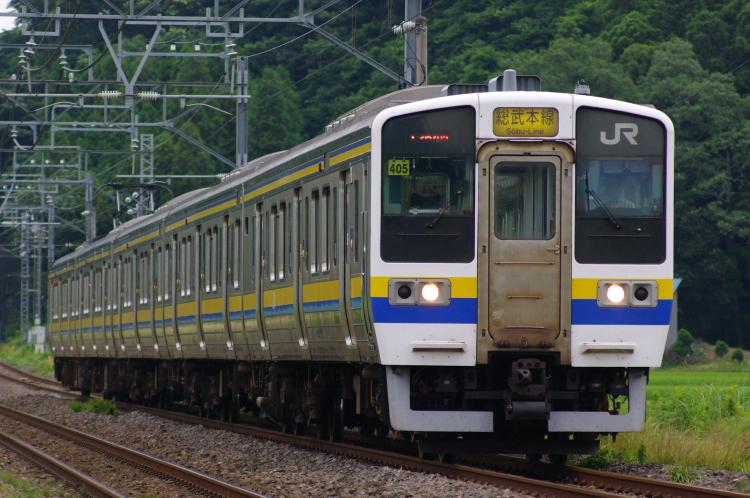 2012年7月20日 総武本線、緩行線 1354M マリ405