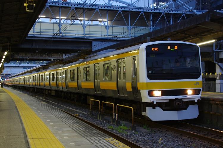 2012年7月21日 総武緩行線 ミツ516