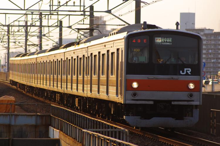 2012年7月29日 京葉線 1743E M30