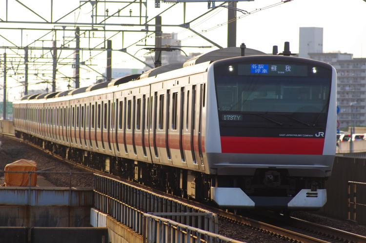 2012年7月29日 京葉線 1737Y ケヨ502