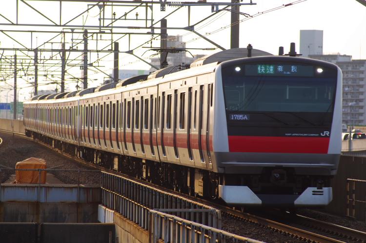 2012年7月29日 京葉線 1785A ケヨ554+F54