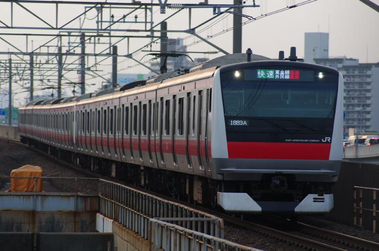 2012年7月29日 京葉線 1883A ケヨ553+F53