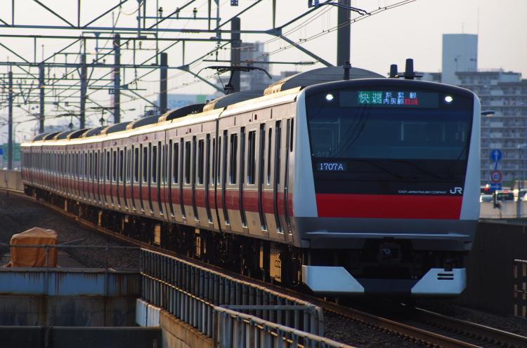 2012年7月29日 京葉線 1707A ケヨ519
