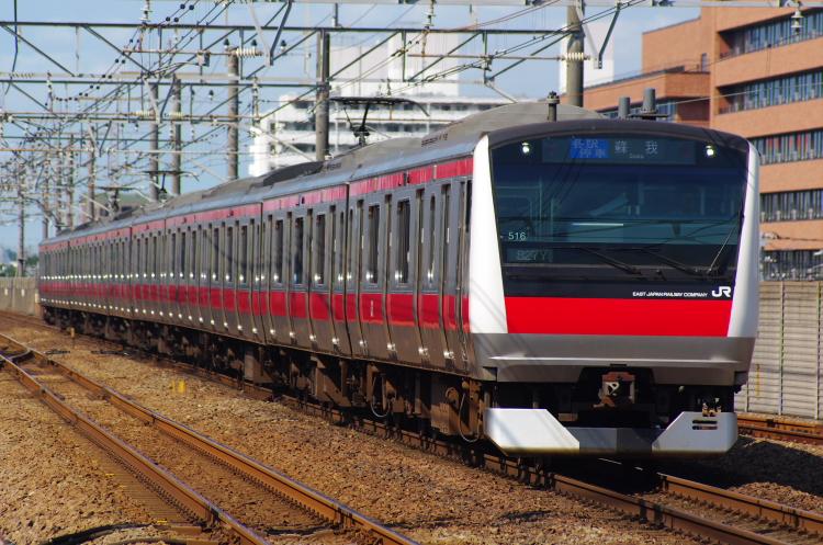 2012年7月30日 京葉線 827Y ケヨ516