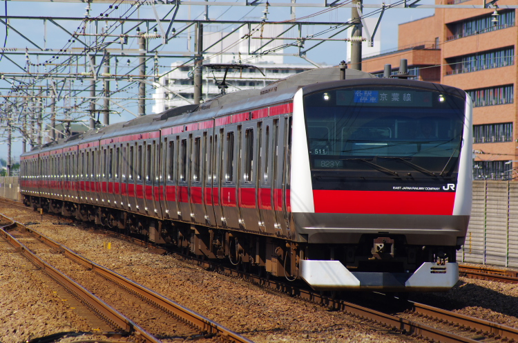 2012年7月30日 京葉線 823Y ケヨ511