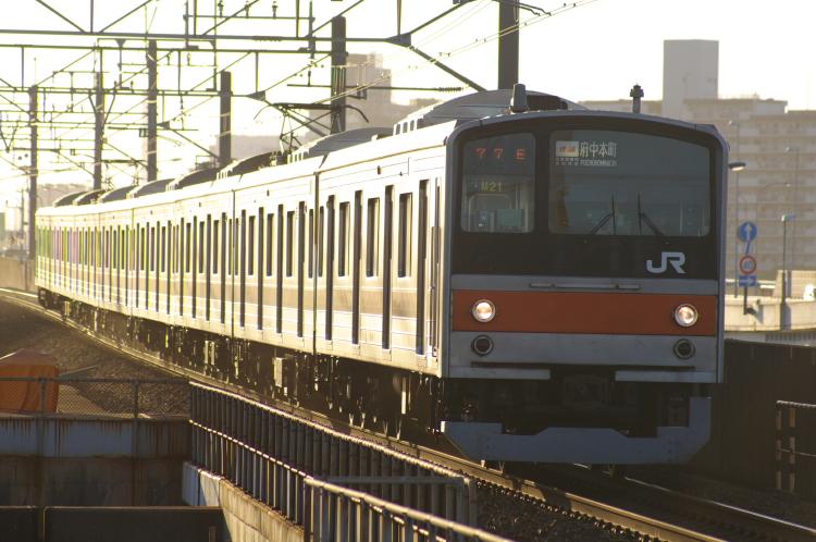 2012年7月30日 京葉線 1777E M21