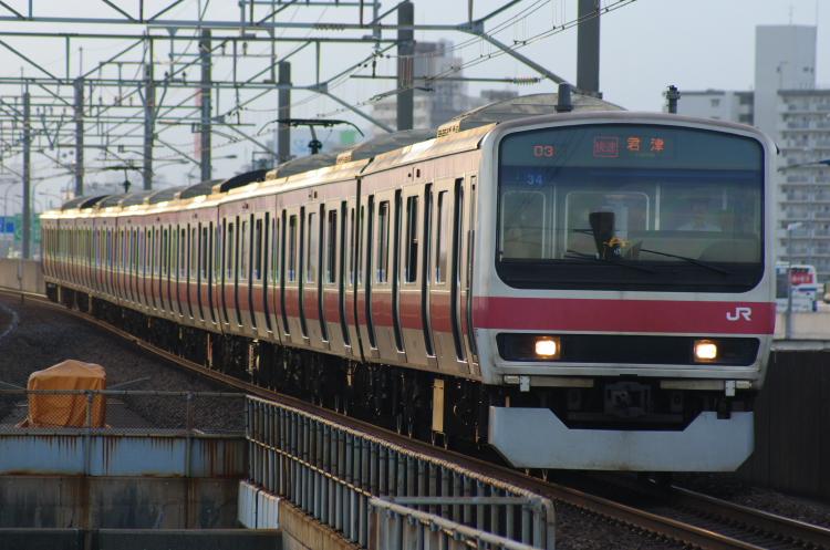 2012年7月30日 京葉線 1803A ケヨ34