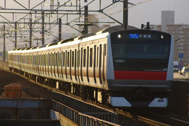 2012年7月30日 京葉線 1735Y ケヨ508