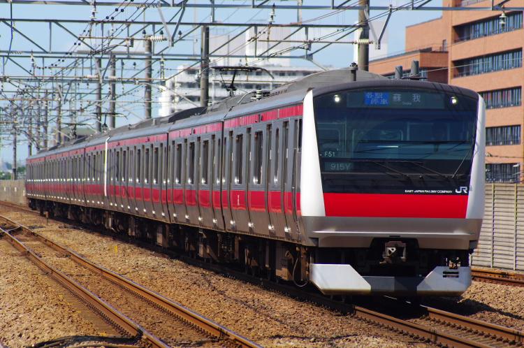 2012年7月30日 京葉線 915Y ケヨ551+F51
