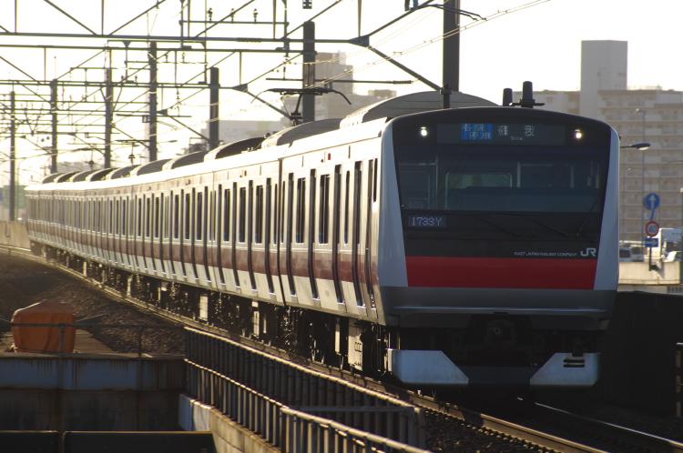 2012年7月30日 京葉線 1733Y ケヨ505