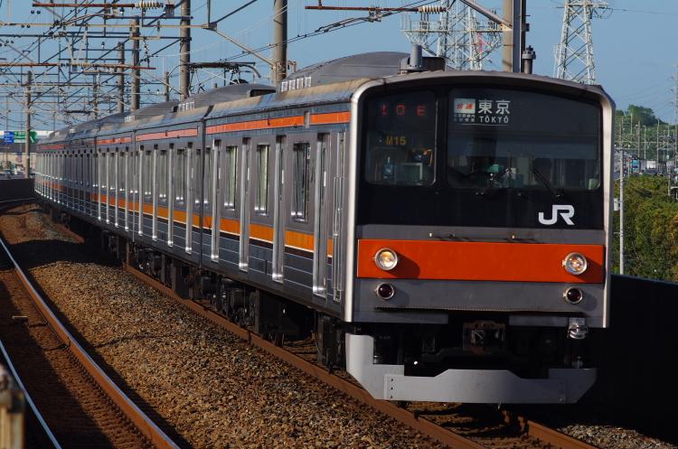 2012年7月31日 京葉線 1410E M15
