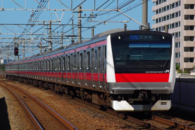 2012年7月31日 京葉線 1522Y ケヨ506