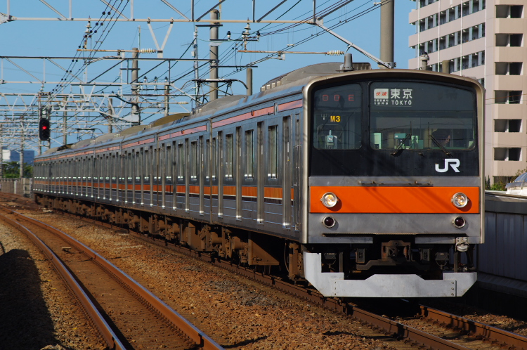 2012年7月31日 京葉線 1400E M3