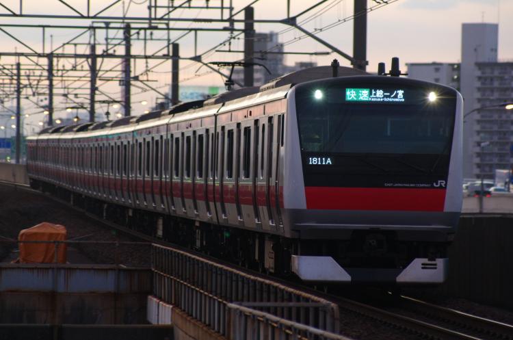 2012年7月31日 京葉線 1811A ケヨ508