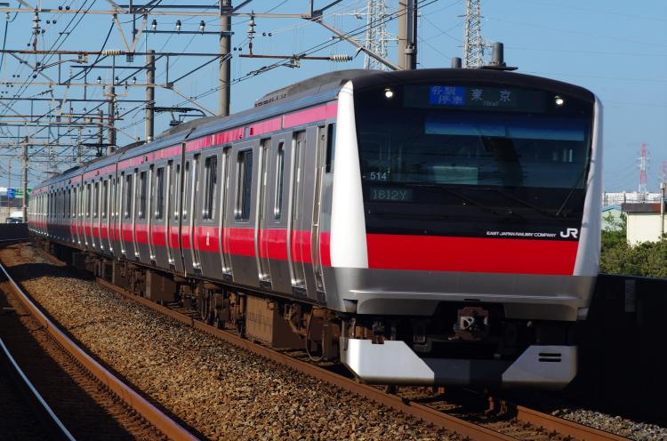 2012年7月31日 京葉線 1612Y ケヨ514