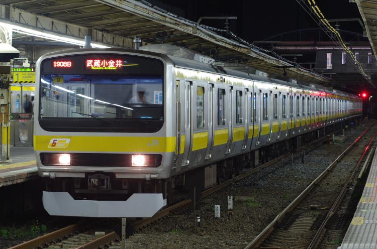 2012年7月31日 京葉線 1908B ミツ9