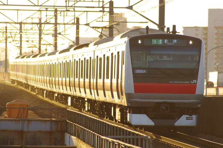 2012年7月31日 京葉線 1803A ケヨ517