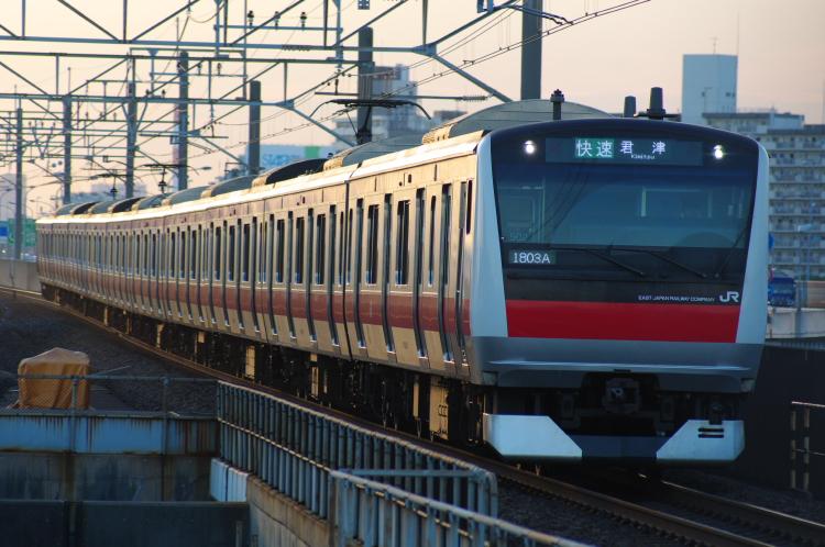 2012年8月2日 京葉線 1803A ケヨ502
