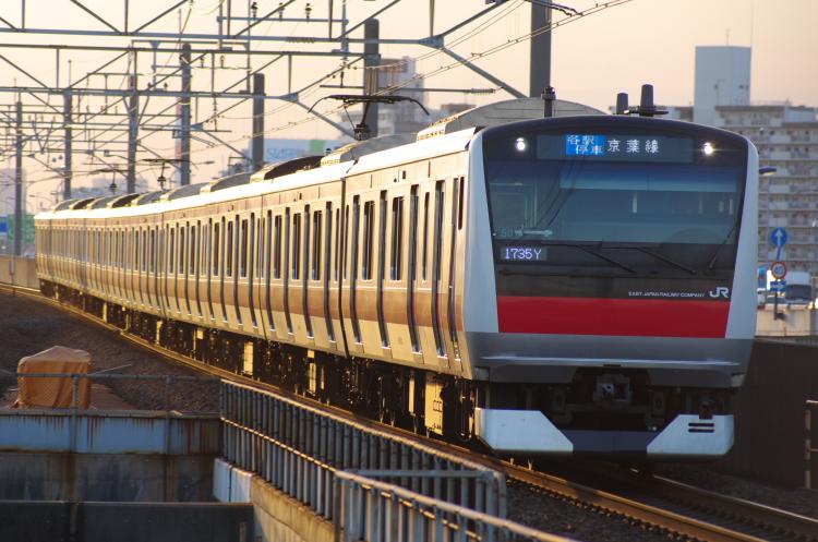 2012年8月2日 京葉線 1735Y ケヨ501