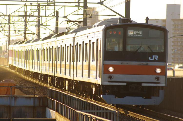 2012年8月2日 京葉線 1777E M2