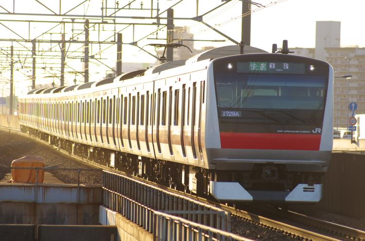 2012年8月2日 京葉線 1729A ケヨ510