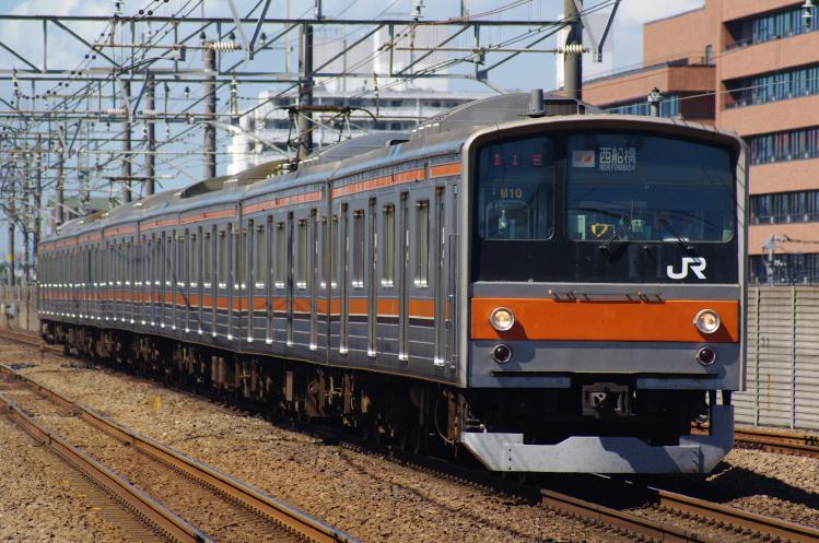 2012年8月2日 京葉線 M10