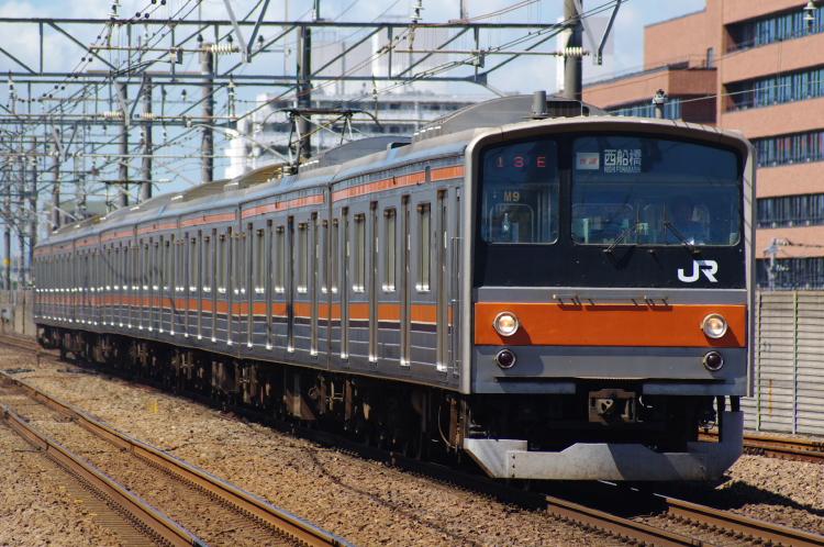 2012年8月2日 京葉線 M9