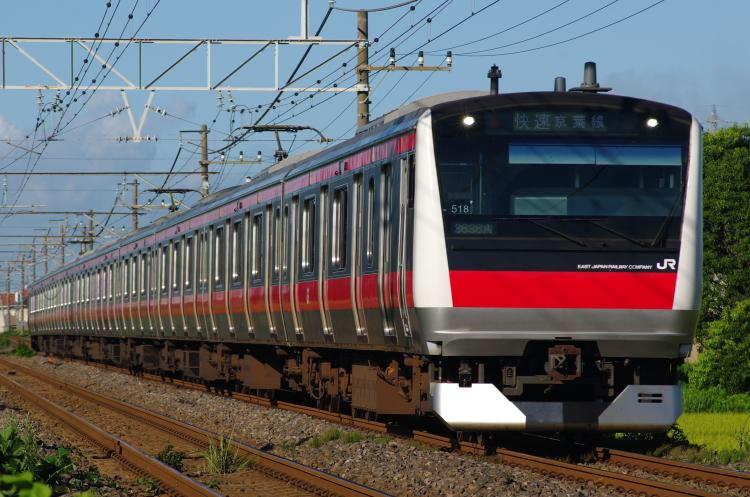 2012年8月19日 内房線 京葉線 ケヨ518
