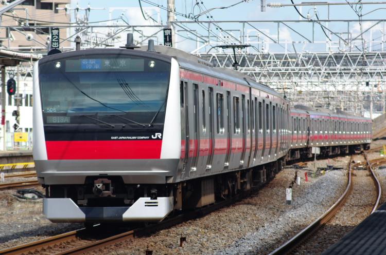 2012年8月19日 内房線 京葉線 ケヨ508