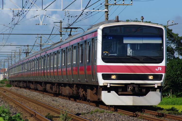 2012年8月19日 内房線 京葉線 ケヨ34
