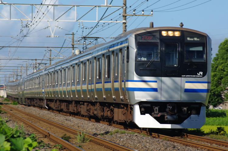 2012年8月19日 内房線 京葉線 3706F クラY134
