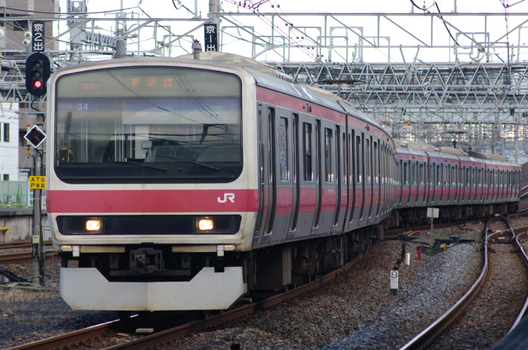 2012年8月19日 内房線 京葉線 833Y ケヨ34