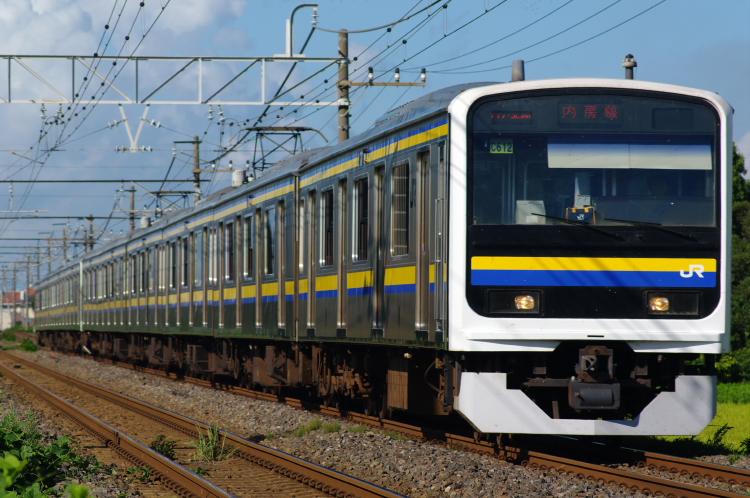 2012年8月19日 内房線 京葉線 マリC612+マリC433