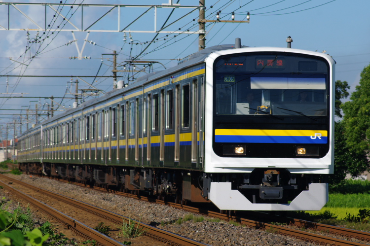 2012年8月19日 内房線 京葉線 マリC603