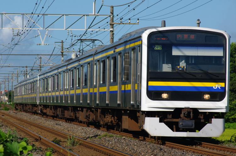 2012年8月19日 内房線 京葉線 マリC412+マリC413