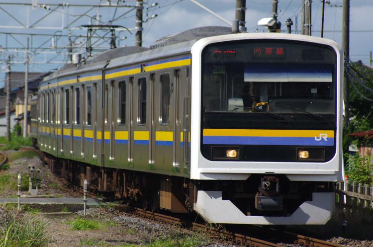 2012年8月19日 内房線 京葉線 マリC417