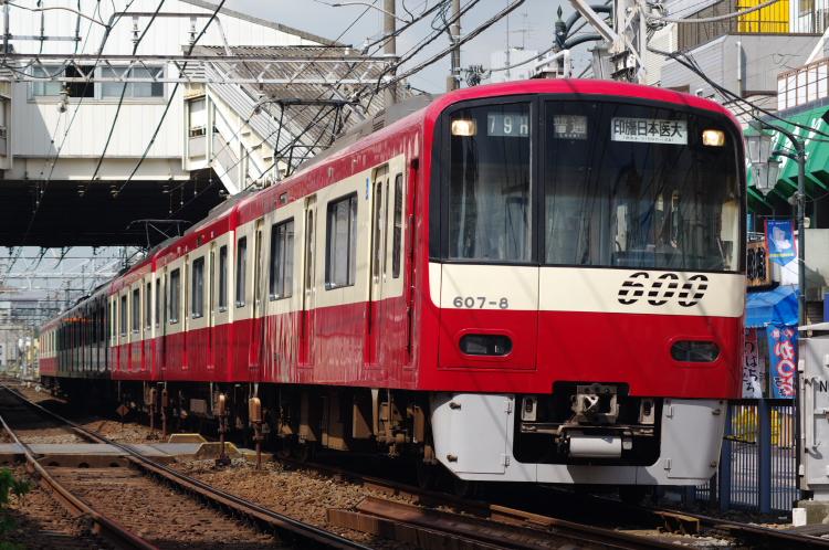2012年8月24日 京成押上線 607 立石