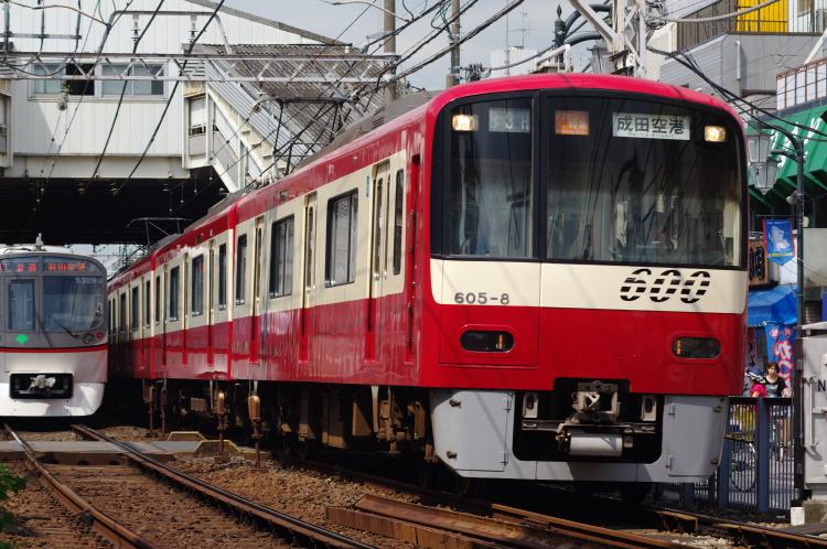 2012年8月24日 京成押上線 605 立石