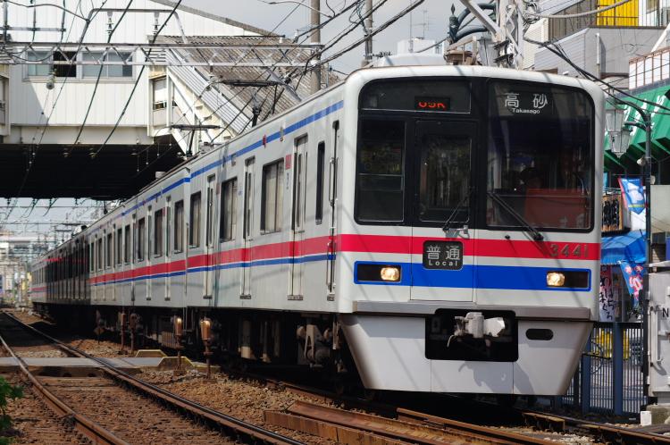 2012年8月24日 京成押上線 3441 立石