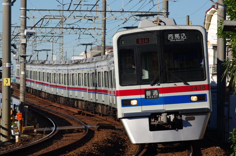 2012年8月24日 京成押上線 3438 青砥