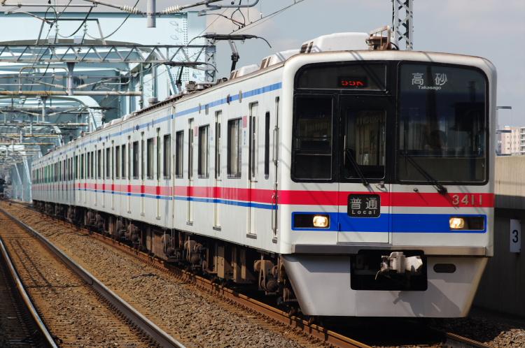 2012年8月24日 京成押上線 3411 四ツ木