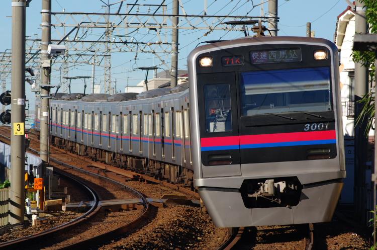 2012年8月24日 京成押上線 3001 青砥