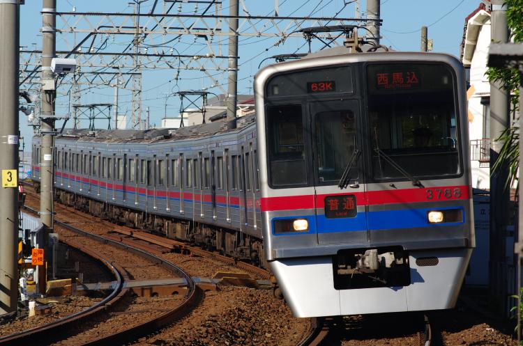 2012年8月24日 京成押上線 3788 青砥