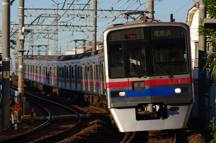 2012年8月24日 京成押上線 3738 青砥