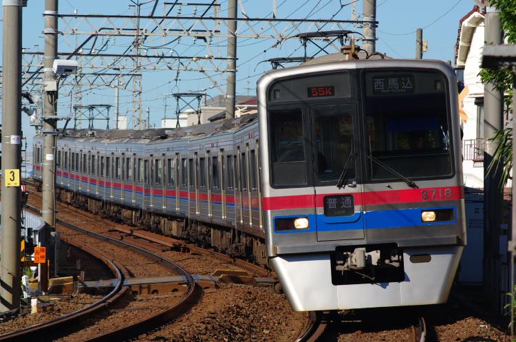 2012年8月24日 京成押上線 3718 青砥