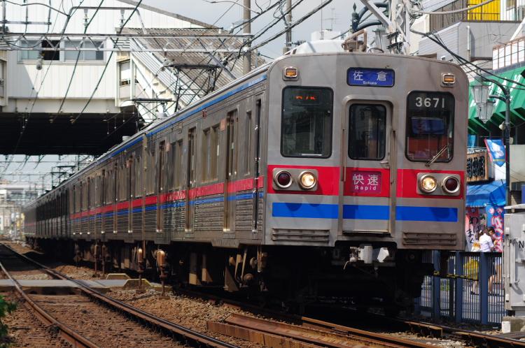 2012年8月24日 京成押上線 3671 立石