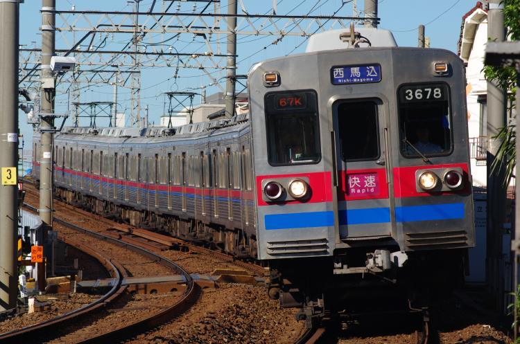 2012年8月24日 京成押上線 3678 青砥