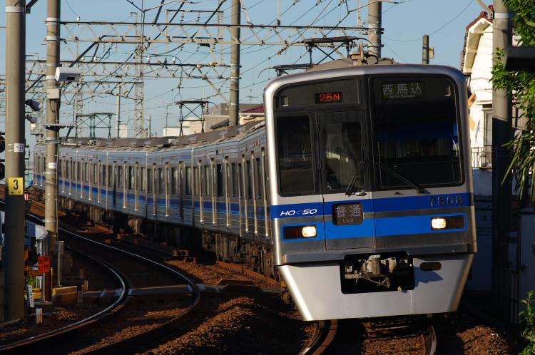 2012年8月24日 京成押上線 7808 青砥